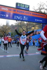 Maratón de New York 2011