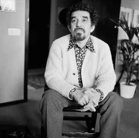 Gabriel García Marquez, mayo de 1972.