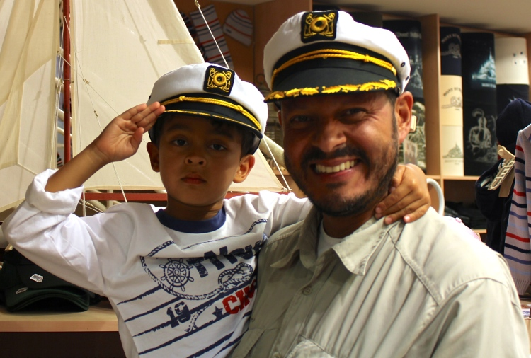 Captain of my life.