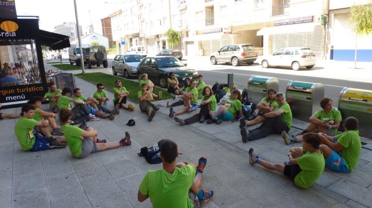 Caminando a Santiago: Caminar, Creer y Crecer.