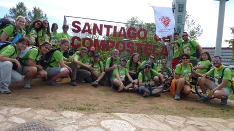 Caminando a Santiago: Esto ya es Legendario.